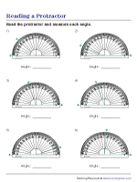 Reading the Inner and Outer Scales of a Protractor
