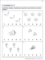 Count the Pictures | Worksheet #1