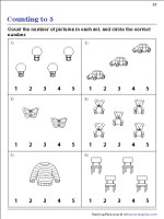 Count the Pictures | Worksheet #2