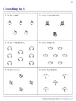 Count and Circle | Worksheet #2