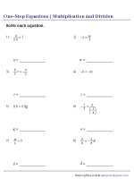 Multiplication and Division – Mixed