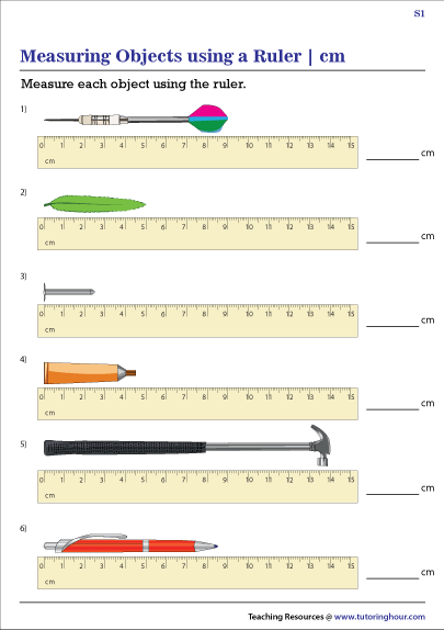 Measuring Objects using Rulers | Centimeters