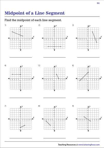Finding the Midpoint of a Line Segment on a Grid