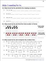 Skip Counting by 5s | Worksheet #2