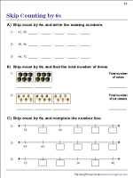 Counting by Sixes | Worksheet #2